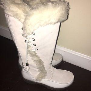 New 7.5 Sporto Winter White Boots Waterproof